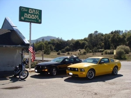 Oak Room Bar--Oakhurst, California--