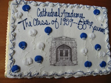 Syracuse Cathedral Academy Class of '59 Fiftieth Anniversary Cake