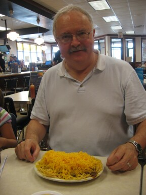 Skyline Chili--Three Way--Double Cheese--Cincinnati