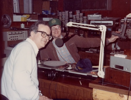 Peter Cavanaugh & Michael Moore--1985--WWCK had just become the highest-rated Rock 'n Roll station in America.