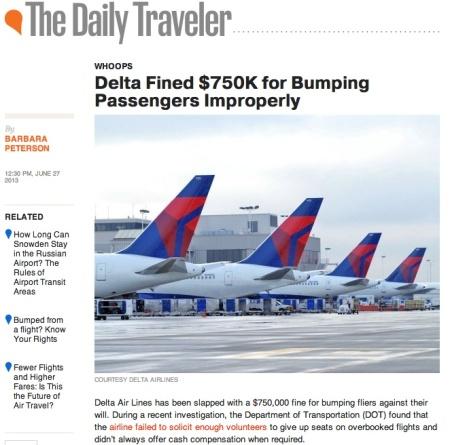 delta fined