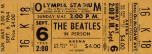 PC--Beatles Ticket